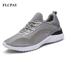 2017 New Brand FLCPAY Sports Running Shoes Men Women Breathable Sneakers Flat Size Top  Trend Mesh Shoes