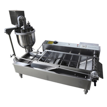 T100 Electric Commercial Automatic Donut Machine_ Donut Fryer_ Donut Maker(China)