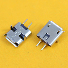 New model Heightened 5-pin Tablet PC PAD Charge port Socket Mini Micro USB Jack Connector DIP feet 2pin(China)