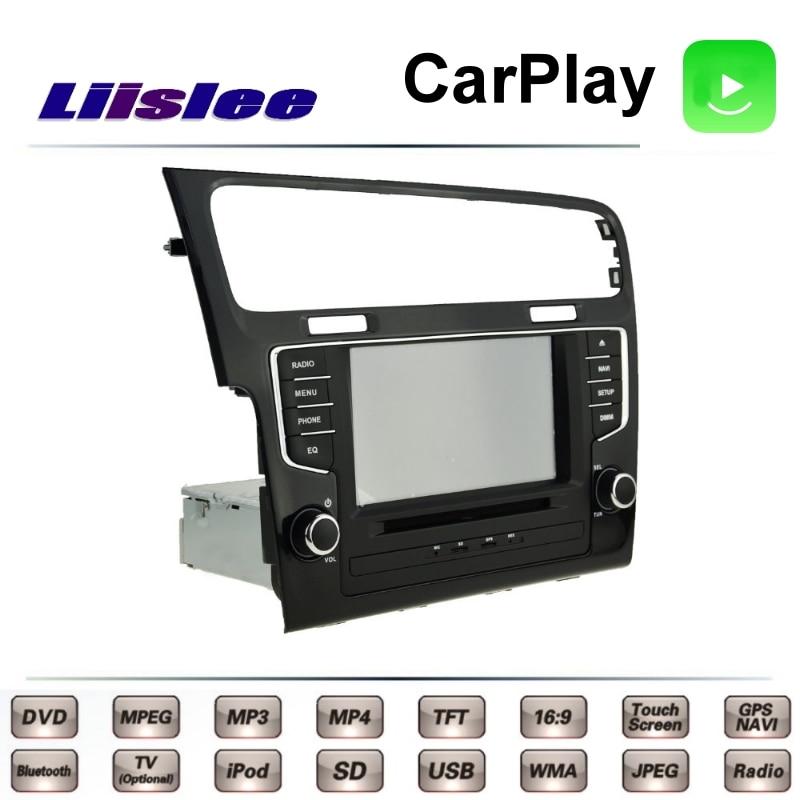 For Volkswagen VW Golf Wagon Golf 7 MK7 2012~2017 LiisLee Car Multimedia TV DVD GPS Radio Carplay Original Style Navigation Navi 6