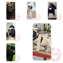 Soft TPU Silicon Phone new pug puppy dog For Huawei Honor P7 P8 P9 Lite Plus 6 6X 7 V8 Mate 7 8 9 G7 G8 Y3II Y5II