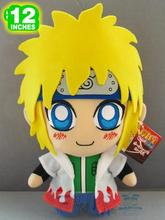 New Rare Japan Anime NARUTO Uzumaki Naruto Dad Namikaze Minato Soft Cute Stuff Plush Toy Doll Birthday Children Kids Gift
