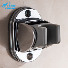 Doodii Newly Modern Style Chrome Finished Bathroom Hand Shower Holder A Grade ABS Handheld Shower Base Wall Mounted