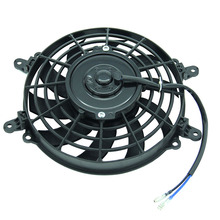 High Performance Newest  Radiator Cooling Fan Oil Cooler Water Cooler Cooling Fan For Dirt Bike Motorcycle ATV Quad Buggy FS-004