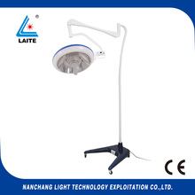 high power Mobile LED Surgical Medical Exam Light Shadowless Lamp free shipping(China)