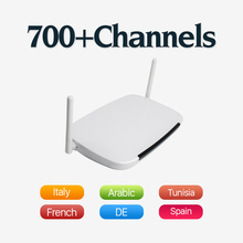 Arabic IPTV Android Smart TV Box RK3128 Quad Core Wifi H.265 Set Top Free 600 Channels Europe French Italy - Amazing Shop store