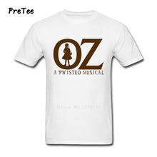 OZ A Twisted Musical Man T Shirt Cotton Short Sleeve Crew Neck Tshirt Boy Tee Shirt 2017 Modern T-shirt For Adult