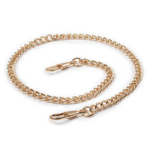 40cm Replacement Metal Chain For Hand Bags Handle Crossbody Handbag Antique Bronze Tone DIY Bag Strap Accessories Hardware Gold