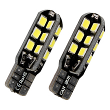 iTimo 1 Pair T10 LED Car Reading Lights Super Bright Auto Accessories 12v 24 SMD Car market lamps Car-Styling Car light Source(China)