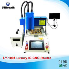 Automatic iphone chip IC CNC Router chip remove machine IC Polishing CNC Milling Machine, Russia free tax
