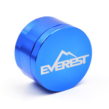 1PC  New Arrival Everest Aluminum Grinder Dia. 63MM 4 Parts Tobacco Gridner Crusher Herb/Spice Grinder with logo