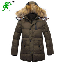 2016 new boys winter jacket childrens clothing boys parka down jacket big boy jacket long sections genuine thick winter jackets