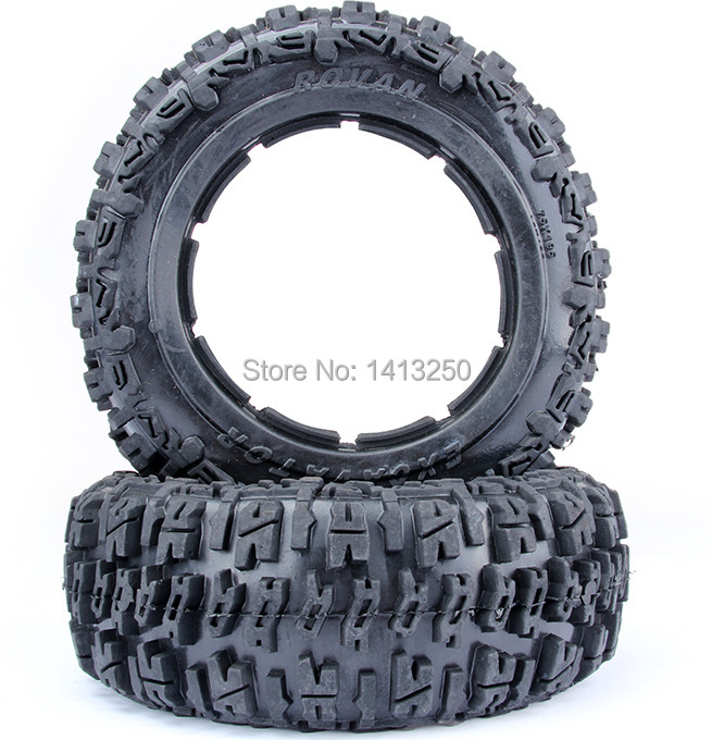 5B front knobby tire set (without inner foam)  for baja parts,free shipping<br>