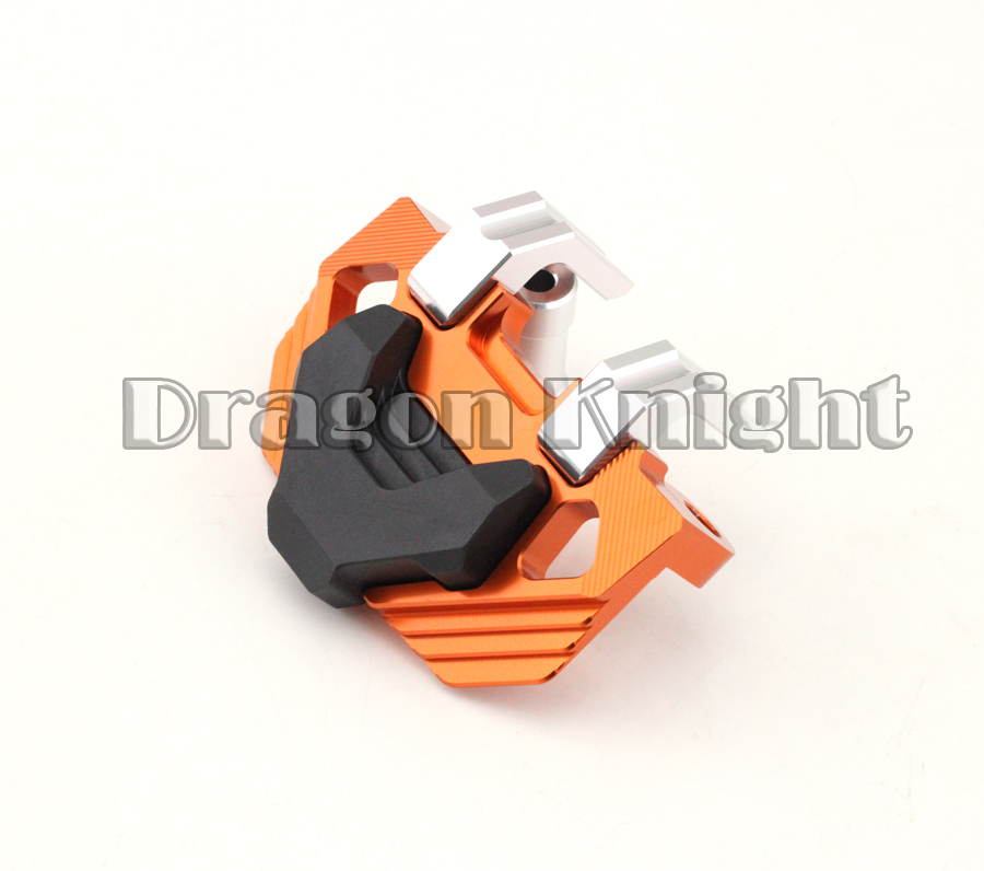 Motorcycle Accessories Orange Front Brake Caliper Protector Cover For KTM RC 200/390 DUKE 2012-2014<br>