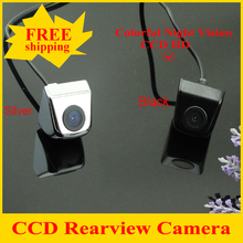 CCD Newest Car Rear View Camera Parking Camera with 100% Waterproof Wide Angle Luxury HD CCD Car Rear Camera Free Shipping(China)