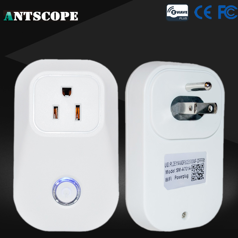 Antscope Wireless Smart Outlet US Power Plug Z-Wave Smart Home Automation System Compatible With All Z wave Protocol Socket <br>