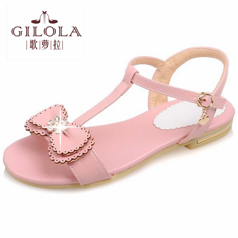2016 new student flat womens sandals flip flops rhinestone women sandals ladies summer shoes woman pink shoes best #Y0572915F<br><br>Aliexpress