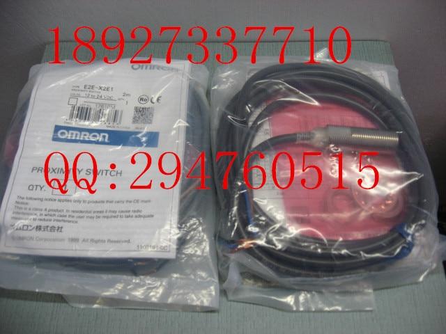 [ZOB] 100% brand new original authentic OMRON Omron proximity switch E2E-X2E1 2M  --5PCS/LOT<br>
