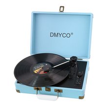 Recorder Audio Nostalgic Stereo Turntable LP Vinyl Record Player Supports Vinyl to MP3 Recording and RCA Output Natural player