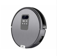 BEST NEW Free TAX X750 Robot Vacuum Cleaner with Self-Charge Wet Mopping for Wood Floor free shipping&customs(China)