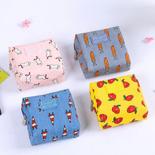 1pc Women Travel Cartoon Storage Jewelry Change Purse Cosmetic Bag Cluth Purses Coin Purse Change Purse(China)