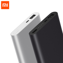Xiaomi Mi 10000mAh Power Bank 2 External Battery Portable Charger Supports 18W Fast Charging For Xiaomi Samsung Huawei Iphone