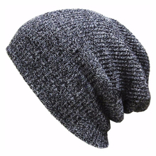 Winter Hats  For Women Men Warm  Casual Cotton  Hat Crochet Slouchy Knit Baggy Oversized Ski Beanie Hat Female Skullies Beanies