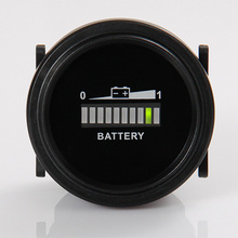 Free shipping Battery Level Indicator Voltmeter for Lawn Care or Floor Care Equipment
