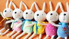 1X Random Color Kawaii 16CM Metoo Rabbit Plush Stuffed TOY DOLL Strap TOY ; Bouquet DOLL Wedding Gift TOY Accessories DOLL