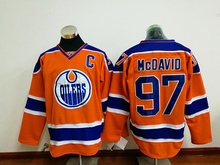 2017 new Ice Hockey Jersey mcdavio # 97 Hockey Jersey  Hockey Jerseys USA Size GOOD QUALITY long warranty fastly shipping