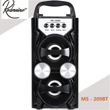 Redmaine MS - 209BT Portable High Power Output FM Radio Wireless Bluetooth Speaker Supports FM TF Card Volume Control
