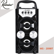 Redmaine MS - 209BT Portable High Power Output FM Radio Wireless Bluetooth Speaker Supports FM TF Card Volume Control(China)