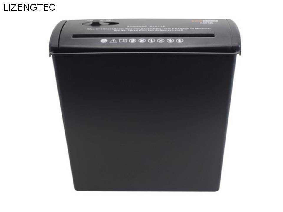 Free Shipping LIZENGTEC New Design Multi-functional A4 Electricity Paper Shredder  2 Level Secrecy 6.8mm