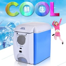 CBJ Auto car refrigerator mini fridge dual use home + car 220V + 12V electric cooler box heating box