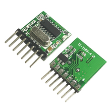 2PCS 433Mhz Superheterodyne RF transmitter Encoding module EV1527 2262 Coding 4 channel Wireless 433Mhz Remote control DIY Kits(China)