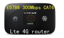 Huawei E5786 4g 300Mbps LTE Cat6 cat4 4g lte MiFi router Cat6 4g lte wireless dongle cpe pk e5776 e589 e5372 e3276 e5186 e5175(China)