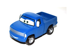 Pixar Movie Cars Diecast Piston Cup Officer Dexter Hoover Blue Truck FREE SHIPPING