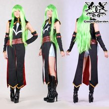 Free Shipping Cosplay Costume Code Geass Lelouch  R2 C.C New in Stock Retail / Wholesale Halloween Christmas Party Uniform