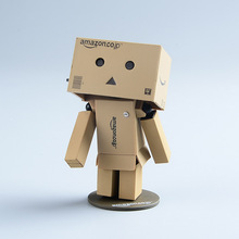 Japanese Anime Danboard Figure Toys Azuma Kiyohiko Danbo Mini PVC 8CM Collectible UY PACK Model Action Figures with LED light