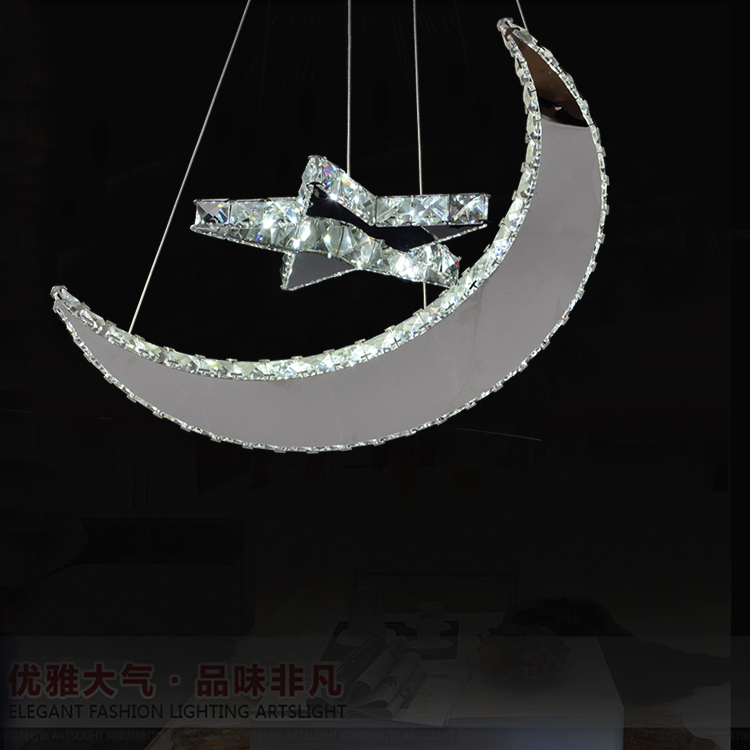 2016 Pendant Light Luminaire Restaurant Lamp Light Pendant Simple Crystal Dining Auspicious Chinese Hanging Personality Led Bar <br>