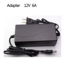 AC Converter Adapter For DC 12V 6A 72W Power Supply Balancer Charger for iMAX B6 B5 LCD Monitors + B6 AC Power Cord Cable