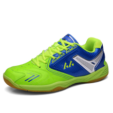 Light Badminton Shoes For Women And Men High Quality Brand Shoes For Table Tennis Hard-Wearing Indoor Sport Sneakers Size 36-45