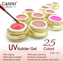 #50951 Professional Camouflage Gel CANNI 25 Colors Semi Nail Art Solid Transparent UV Jelly Gel Hard Gel Builder Gel