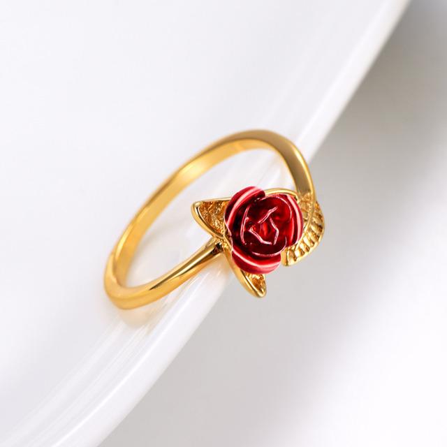 Passion Ring Finger Rose Ring 💍