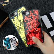 Buy KISSCASE Glitter Liquid Quicksand Case iPhone 7 6 6S Girly Case iPhone 6 6S 7 plus Bling Sequin Cute Cover Capa Fundas for $3.19 in AliExpress store