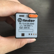 60.12 Finder Type 220VAC Mini Electromagnetic Relay Finder Relay 60.12 General Purpose Relay