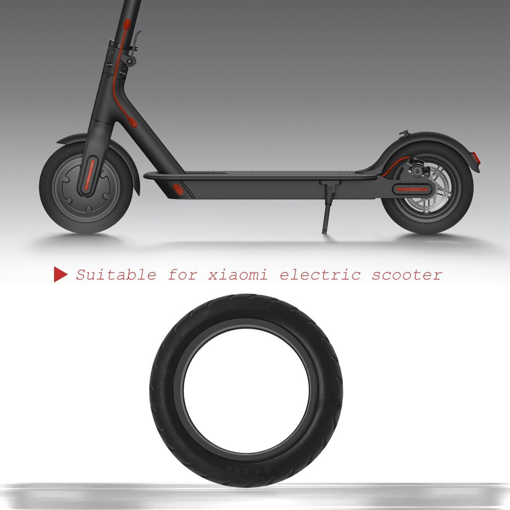 OUTAD Solid Vacuum Tires 8 1/2X2 Micropores Xiaomi Mijia M365 Electric Skateboard Scooter Non-Pneumatic Vacuum Wheels