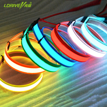 9 Colors 1x100CM EL Tape EL Strip Cold Light for Car,House,Party,Display,Holiday and Model Decoration Car Soft Ambient Light