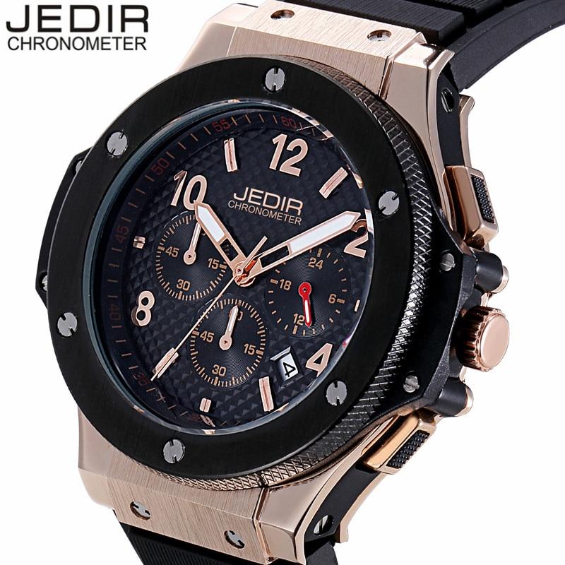 JEDIR Diver Military Sports Watches Men Luxury Brand Chronograph Rubber Quartz Watch Waterproof Wristwatch relogio masculino<br><br>Aliexpress