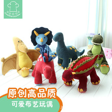 Foreign trade export manufacturer wholesale plush cloth toys Pillow doll car birthday The dinosaur plush dolls(China)